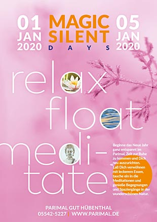 Magic Silent Days - relax, float, meditate