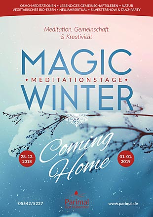 "Magic Winter-Meditationstage: ""Coming Home"""